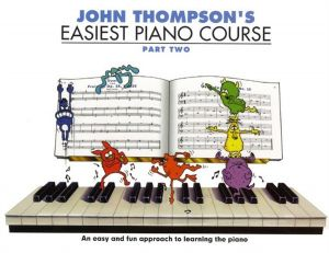 Easiest Piano Course: Part Two with CD by John Thompson, 2005