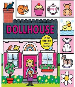 Lift The Flap Tab Dollhouse by Roger Priddy - Board Book