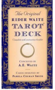The Original Rider Waite Tarot Deck by Arthur Edward Waite - Paperback