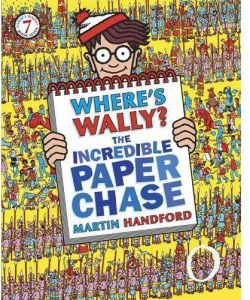 Where's Wally? The Incredible Paper Chase by Martin Handford - Paperback