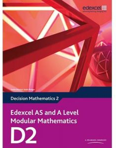 Edexcel AS and A Level Modular Mathematics D2 by Susie Jameson - Mixed Media
