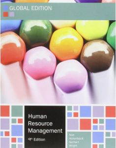 Human Resource Management 9th Edition by Raymond Andrew Noe - Paperback