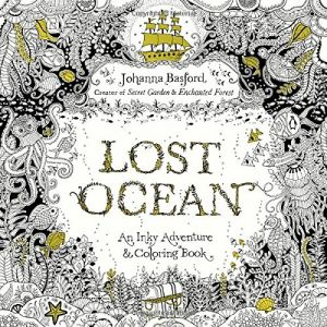 Lost Ocean - An Inky Adventure and Coloring Book Paperback