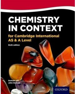 Chemistry in Context for Cambridge International AS and A Level Sixth Edition by Graham C. Hill - Paperback