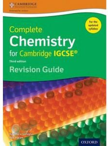 Complete Chemistry for Cambridge IGCSE Revision Guide Third Edition by RoseMarie Gallagher - Paperback
