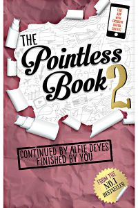 The Pointless Book 2 by Alfie Deyes - Paperback