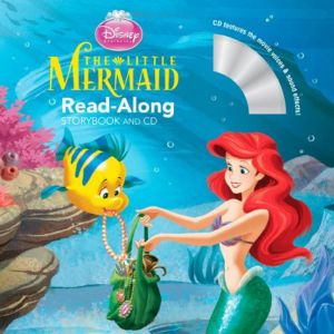 The Little Mermaid Read-Along Storybook and CD - Paperback