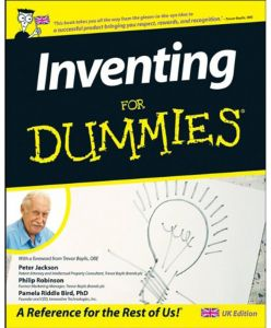 Inventing For Dummies by Peter Jackson - Paperback