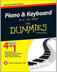 Piano and Keyboard All in One for Dummies by Dummies - Paperback