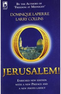 O Jerusalem. by Dominique Lapierre - Paperback