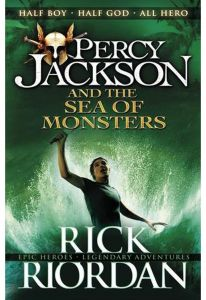 Percy Jackson and the Sea of Monsters by Rick Riordan - Paperback