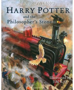 Harry Potter and the Philosopher's Stone: Illustrated Edition by J.K. Rowling - Hardcover