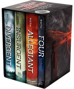 Divergent Series Ultimate Four-Book Box Set: Divergent, Insurgent, Allegiant, Four by Veronica Roth - Hardcover