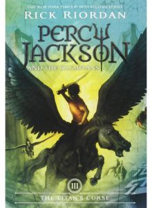 Percy Jackson and The Olympians The Titan's Curse by Rick Riordan - Paperback