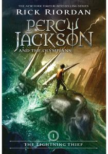 Percy Jackson and the Olympians The Lightning Thief by Rick Riordan - Paperback
