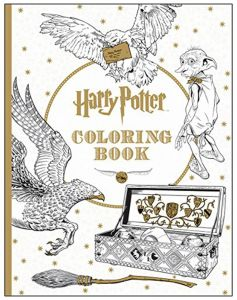 Harry Potter Coloring Book by Scholastic - Paperback