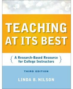 Teaching at Its Best Third Edition by Linda B. Nilson - Paperback