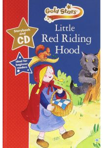 Gold Stars Little Red Riding Hood Storybook and CD - Mixed Media