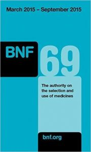 BNF 69 March 2015  September 2015 (British National Formulary)