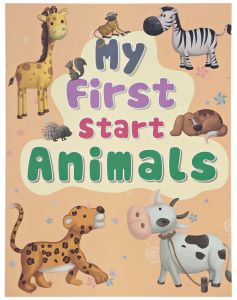 My first Start Animals by Young Angels - Paperback