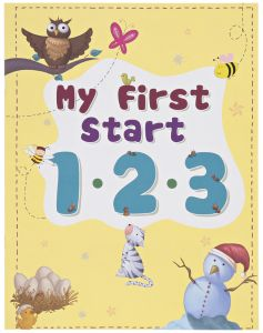 My first Start 1 2 3 by Young Angels - Paperback