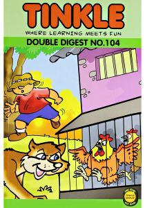 Tinkle Where Learning Meets Fun Double Digest No. 104 by Anant Pai - Paperback