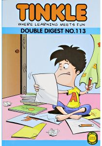 Tinkle Where Learning Meets Fun Double Digest No. 113 by Rajani Thandiath - Paperback