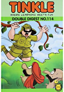 Tinkle Where Learning Meets Fun Double Digest No. 114 by Rajani Thandiath - Paperback