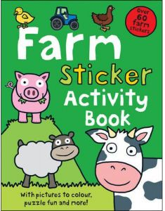 Farm Sticker Activity Book by Roger Priddy - Paperback