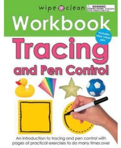 Wipe Clean Work Books Tracing and Pen Control by Roger Priddy - Spiral Bound