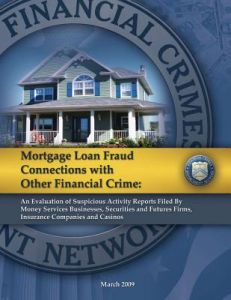 Mortgage Loan Fraud Connections with Other Financial Crime: An Evaluation of Suspicious Activity Report Filed Money Services Businesses, Securities by Office of Law Enforcement Support - Paperback